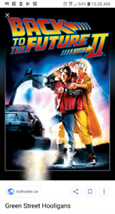 Back to the future 2 movie poster