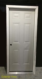 Entry Doors with Full Frames (6 Panel) – Stock Clearance