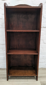 Vintage Oak Bookcase (DELIVERY AVAILABLE)