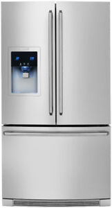 Stainless steel  Electrolux French door refrigerator
