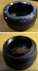 SONY E Adapter : C/Y , Konica AR , M42 , Canon FD , Pentax PK