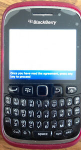 Blackberry Curve 9320w/soft case &screen protector, 3.2mp camera