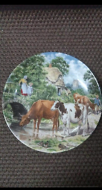 Wedgwood plates in good condition