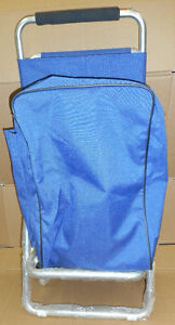 Shopping Trolly Bag With Folding Chair ** NEW PRICE**