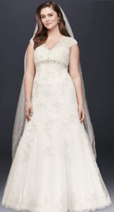 Gorgeous Plus Size Wedding Dress $300 obo