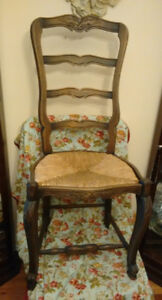 Chair Antique - available set of 6 ($500)