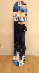 Rarely used snowboard