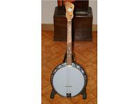 John Grey Tenor Banjo (px/swap/exchange for Mandolin or Guitar considered)