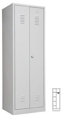 SPIND SPINT Stahl Kleiderschränke 510705 Gaderobenschrank Putzschrank 2 türig
