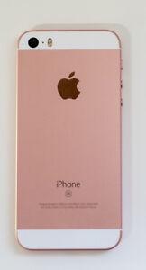 Rose gold iPhone SE 64g