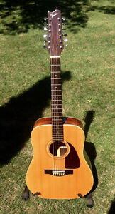 12 string Fender F330-12 with electronics