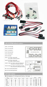 RC 12 LED Light Control Indicator SYSTEM 2.0 for 1/10 Car NEW