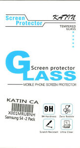 2x New SCREEN PROTECTOR for Samsung S4 Cell Phone