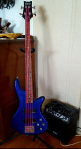 Schecter Diamond series bass guitar