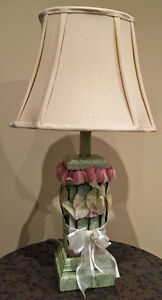 Floral Table Lamps (pair)
