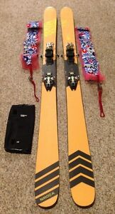 Down Carbon Touring Ski Set