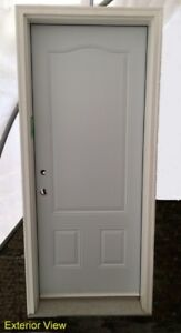 """Three Panel Insulated Entry Door System - 32"""" x 80"""""""
