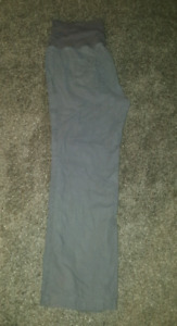 Old navy xl linen maternity pants