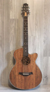 Brand New Acoustic electric Guitar Nice Look 40 inch