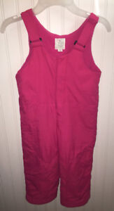 CHILDREN'S PLACE GIRL'S PINK SNOW PANTS SIZE 2T LIKE NEW!