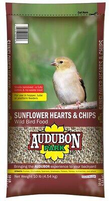 Audubon Park 12519 Hearts and Chips Wild Bird Food 10 lb Bag