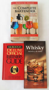 Bartender Drink Recipe Book Bundle of Three(3) Titles