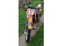 KTM 85 SX Motorcross motorcycle very clean