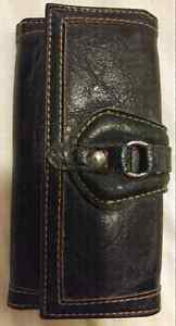 Ladies Leather-look Wallet 7 inch PRICE REDUCED!