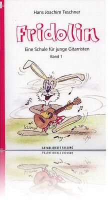 Teschner - Fridolin Band 1 - Schule für Gitarre