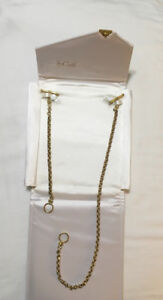 AAA White and Yellow Gold Necklace Set