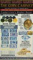 BUYING: Your Gold, Silver, Coin Collections, Bank Notes, Etc