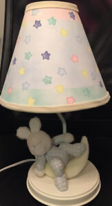 2 x Toddle-Baby Lamps