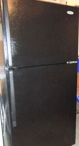Whirlpool Black Fridge in Very Good Condition
