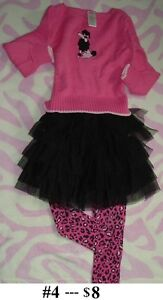 5T Girl's --- Outfit Lot 02