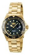 Invicta Mens Watch Gold Plated