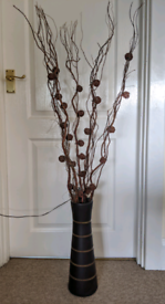Fairy Lights Branches and Vase