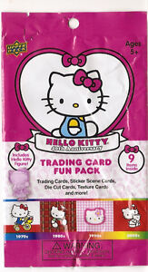 Hello Kitty 40th Anniversary Pack -  Upper Deck 2014