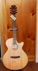 Cort SFX1F-NS Acoustic Electric Solid Top Guitar As New, Tags st