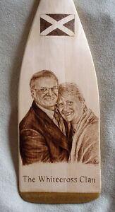 ORIGINAL AND UNIQUE WOODBURNED PADDLES-COMMISSIONS, GIFTS, ETC. Peterborough Peterborough Area image 6