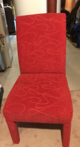 Two parson chairs, $50 for one chair or $80 for the pair.