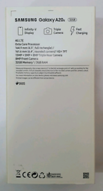 32gb Brand New Samsung Galaxy A20 S Duos (Dual Sim) Unlocked Open To A