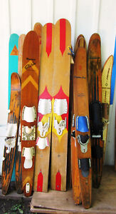 Looking for Great Vintage Wooden Water Skis fom the 50's