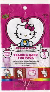 Hello Kitty 40th Anniversary Pack (Upper Deck 2014)