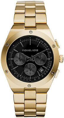 affecae6bef3 ... Women s Black Dial Stainless Steel Bracelet Watch Mk6078 UPC  796483141971 product image for Michael Kors Mk6078 Gold Black Reagan Watch  - 2 Years ...
