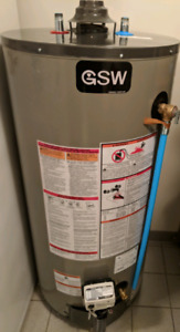 GSW 40 GALLON CONVENTIONAL GAS WATER HEATER TANK