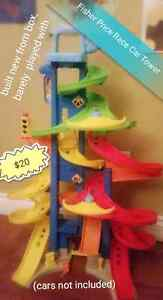 Fisher price  little people race tower