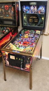FS/FT The Hobbit SE Smaug Edition Pinball Machine by Jersey Jack