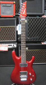 Ibanez JS1200 Joe Satriani Electric Guitar (Red) JS 1200 & Case
