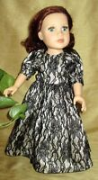 All my doll clothes will fit any 18 inch doll. Go to:  http://do
