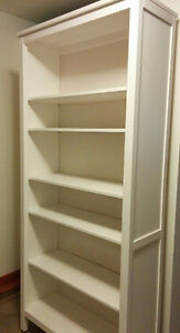 Hemnes solid wood bookcase